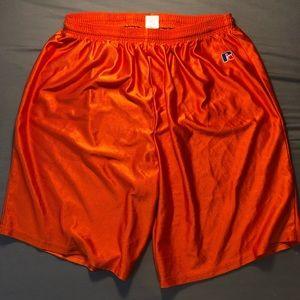 Vintage Orange Russell Shorts
